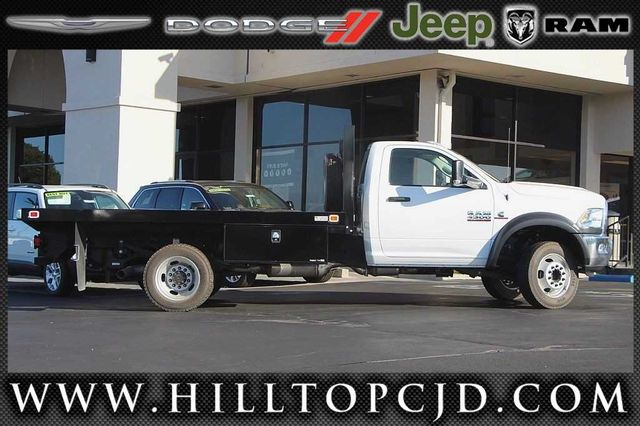 2016 Ram 4500 Regular Cab DRW 4x4, Knapheide Platform Body #D6752 - photo 6