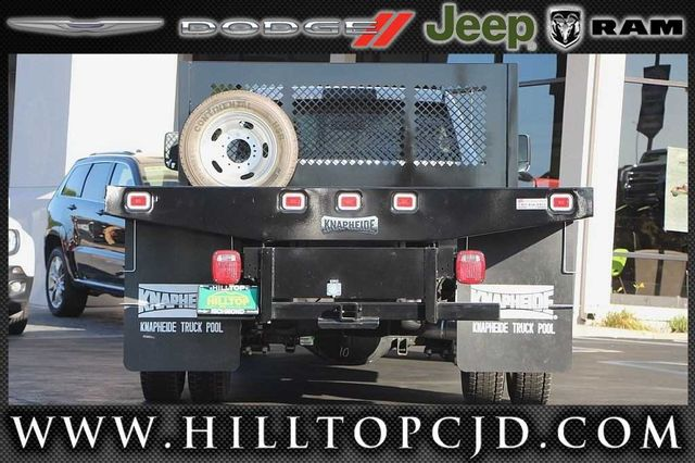 2016 Ram 4500 Regular Cab DRW 4x4, Knapheide Platform Body #D6752 - photo 7