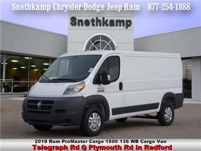 2018 ProMaster 1500 Standard Roof FWD,  Empty Cargo Van #JE124257 - photo 1