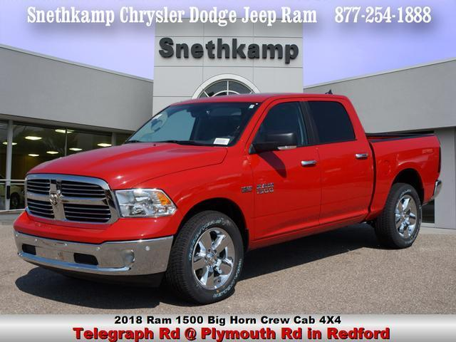 2018 Ram 1500 Crew Cab 4x4 Pickup #JS109236 - photo 1