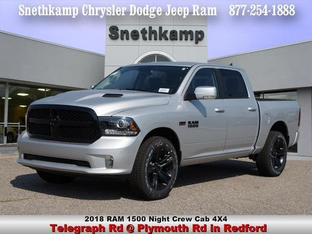 2018 Ram 1500 Crew Cab 4x4 Pickup #JS109359 - photo 1