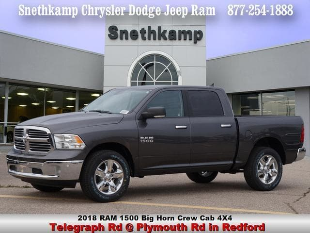 2018 Ram 1500 Crew Cab 4x4, Pickup #JS124595 - photo 1