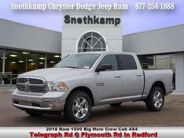 2018 Ram 1500 Crew Cab 4x4, Pickup #JS124596 - photo 1
