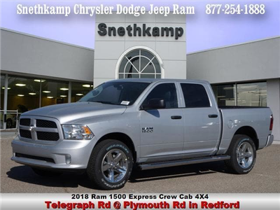 2018 Ram 1500 Crew Cab 4x4,  Pickup #JS220646 - photo 1