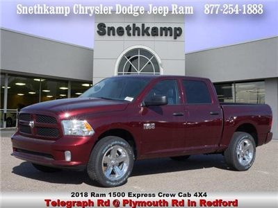 2018 Ram 1500 Crew Cab 4x4,  Pickup #JS224173 - photo 1