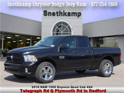 2018 Ram 1500 Quad Cab 4x4,  Pickup #JS244280 - photo 1