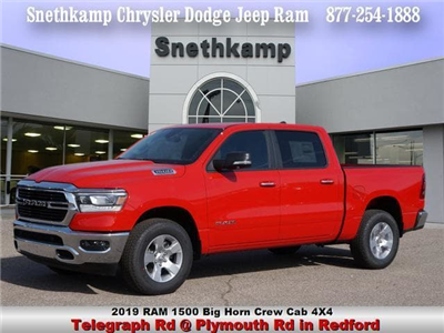 2019 Ram 1500 Crew Cab 4x4, Pickup #KN530153 - photo 1