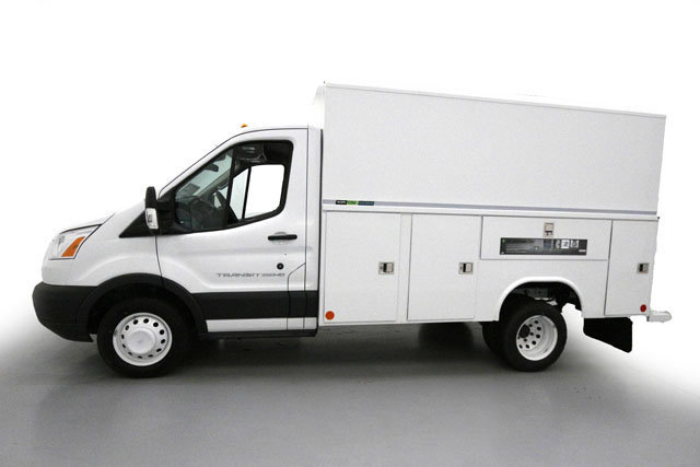 2017 Transit 350 HD Low Roof DRW, Reading Service Utility Van #70816 - photo 3