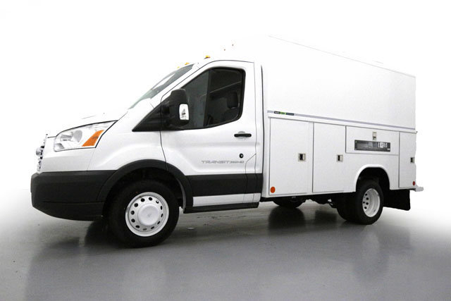 2017 Transit 350 HD Low Roof DRW, Reading Service Utility Van #70816 - photo 8