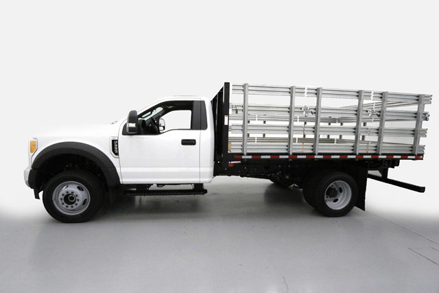 2017 F-550 Regular Cab DRW 4x4, Morgan Stake Bed #70817 - photo 3