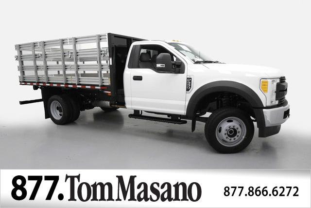 2017 F-550 Regular Cab DRW 4x4, Morgan Stake Bed #70817 - photo 1