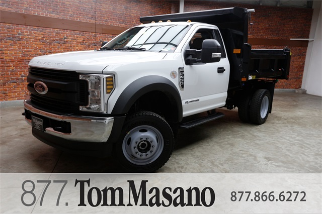 2019 F-450 Regular Cab DRW 4x4,  Rugby Dump Body #90293 - photo 1