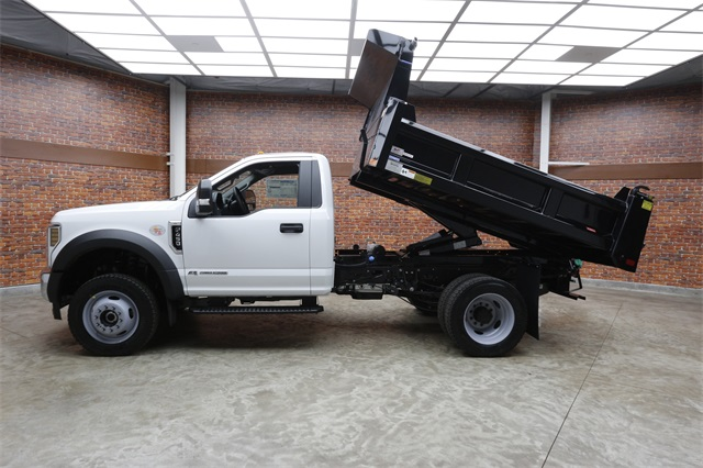 2019 F-450 Regular Cab DRW 4x4,  Rugby Eliminator LP Steel Dump Body #90293 - photo 17