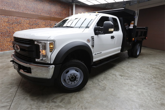 2019 F-550 Super Cab DRW 4x4,  Rugby Eliminator LP Steel Dump Body #90552 - photo 11