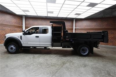 2019 F-550 Super Cab DRW 4x4,  Rugby Eliminator LP Steel Dump Body #90552 - photo 37