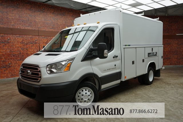 2019 Transit 350 HD DRW 4x2,  Reading Service Utility Van #90781 - photo 1