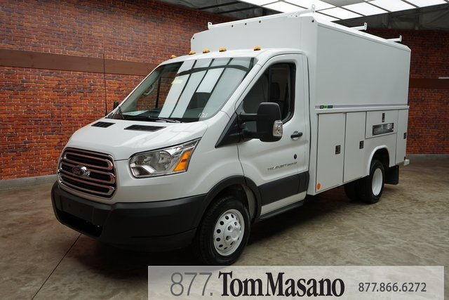2019 Transit 350 HD DRW 4x2,  Reading Aluminum CSV Service Utility Van #90781 - photo 27