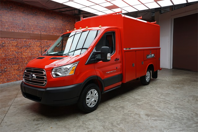 2019 Transit 350 4x2,  Reading Aluminum CSV Service Utility Van #90784 - photo 16