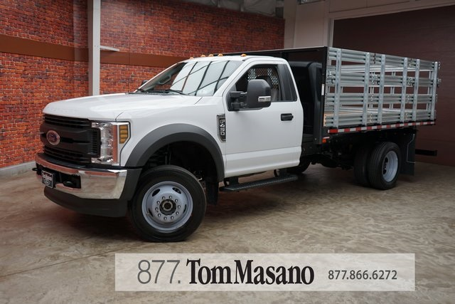 2019 F-450 Regular Cab DRW 4x4,  Morgan Stake Bed #90840 - photo 1