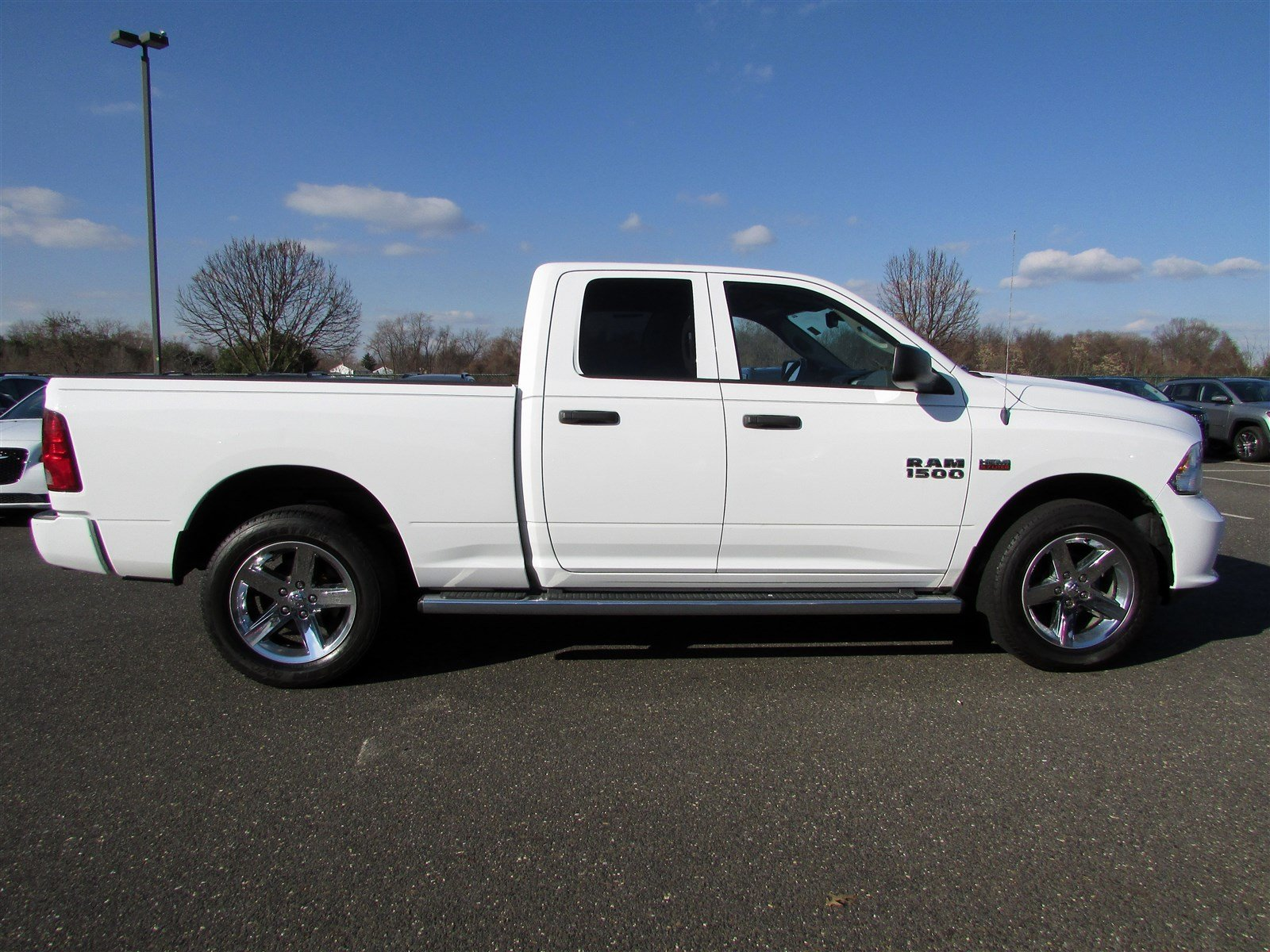 2014 Ram 1500 Quad Cab 4x4, Pickup #CH559A - photo 7