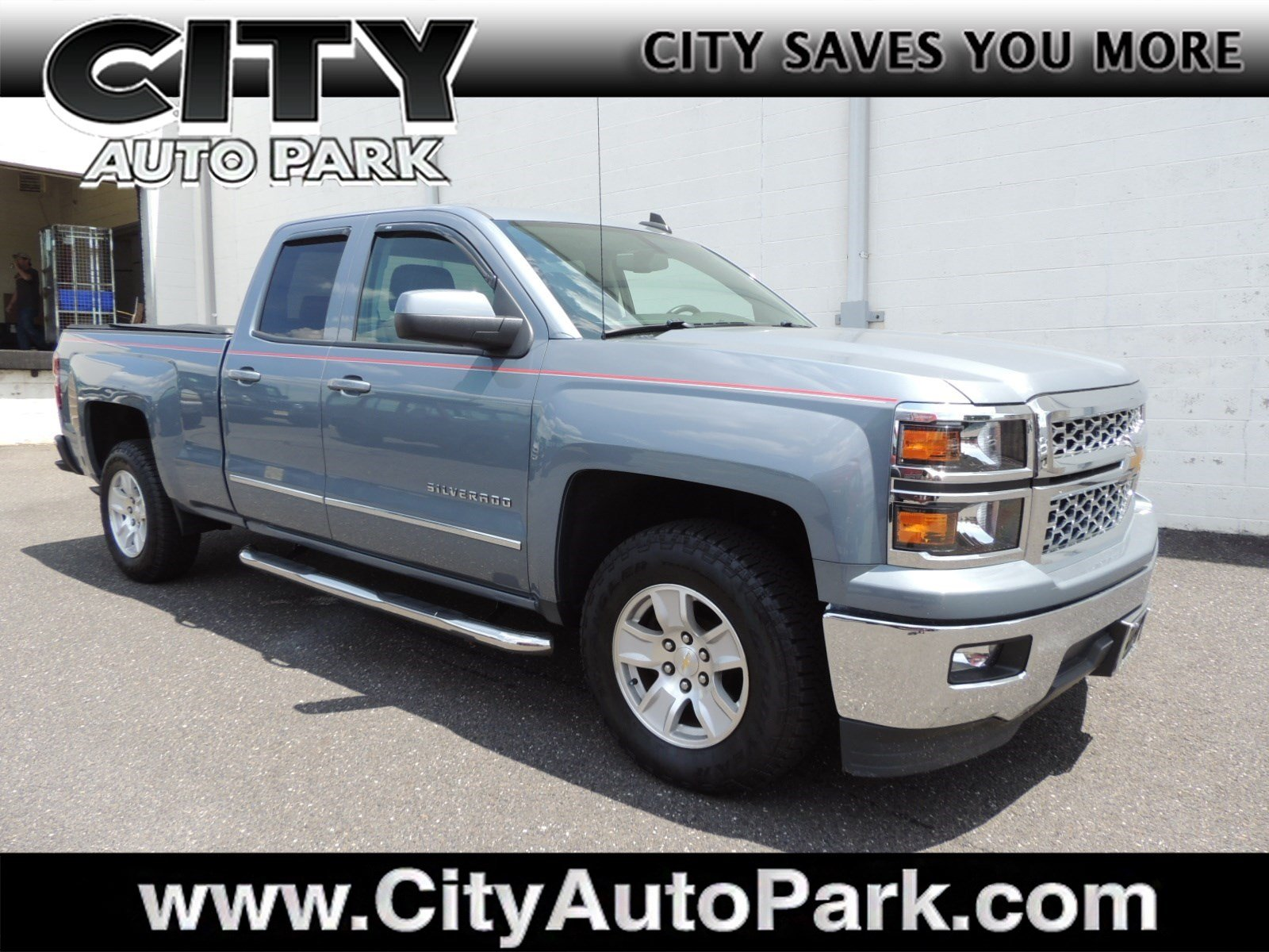2015 Silverado 1500 Double Cab 4x2,  Pickup #CJ059A - photo 1