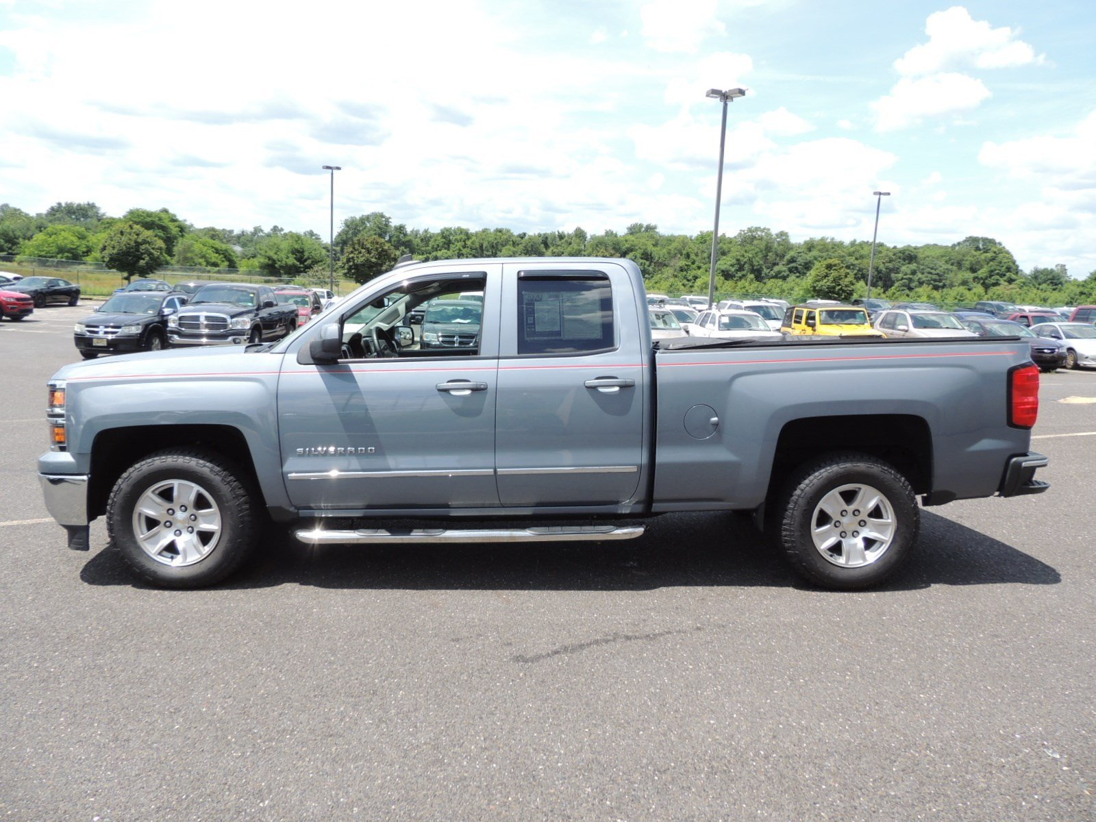 2015 Silverado 1500 Double Cab 4x2,  Pickup #CJ059A - photo 7