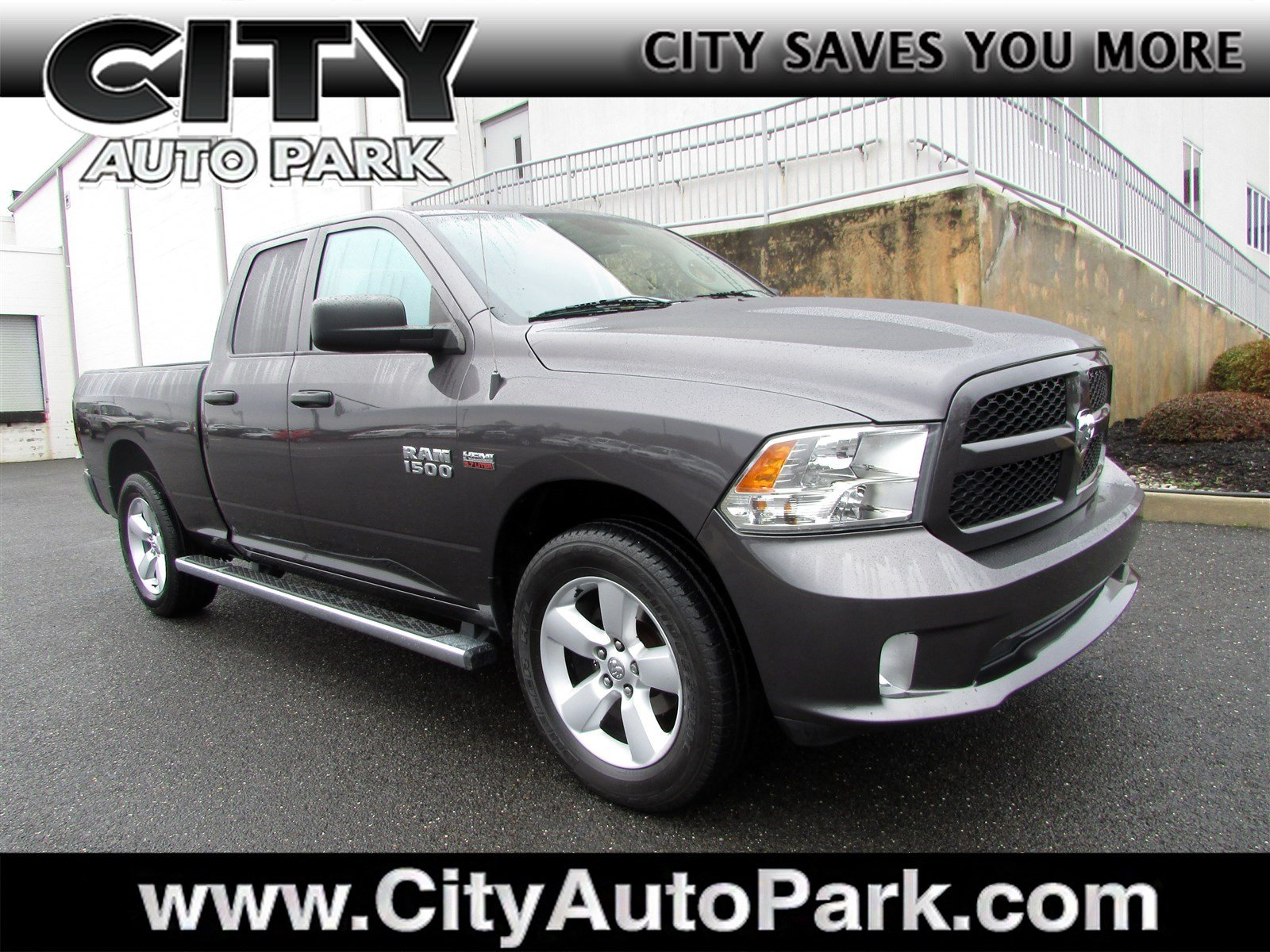 2015 Ram 1500 Quad Cab 4x4, Pickup #CJ165A - photo 1