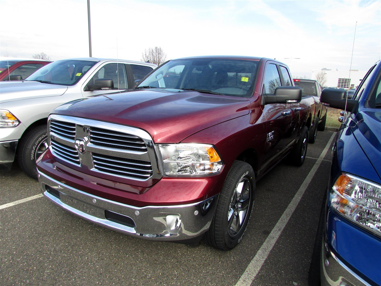 2018 Ram 1500 Quad Cab 4x4, Pickup #CJ214 - photo 4