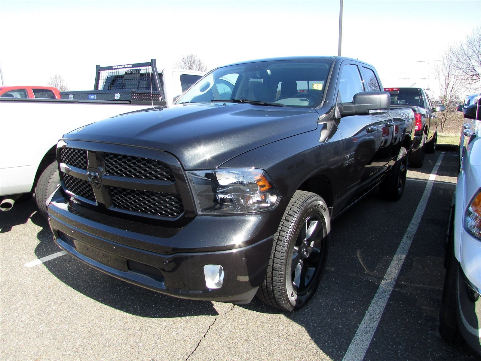 2018 Ram 1500 Quad Cab 4x4, Pickup #CJ298 - photo 4