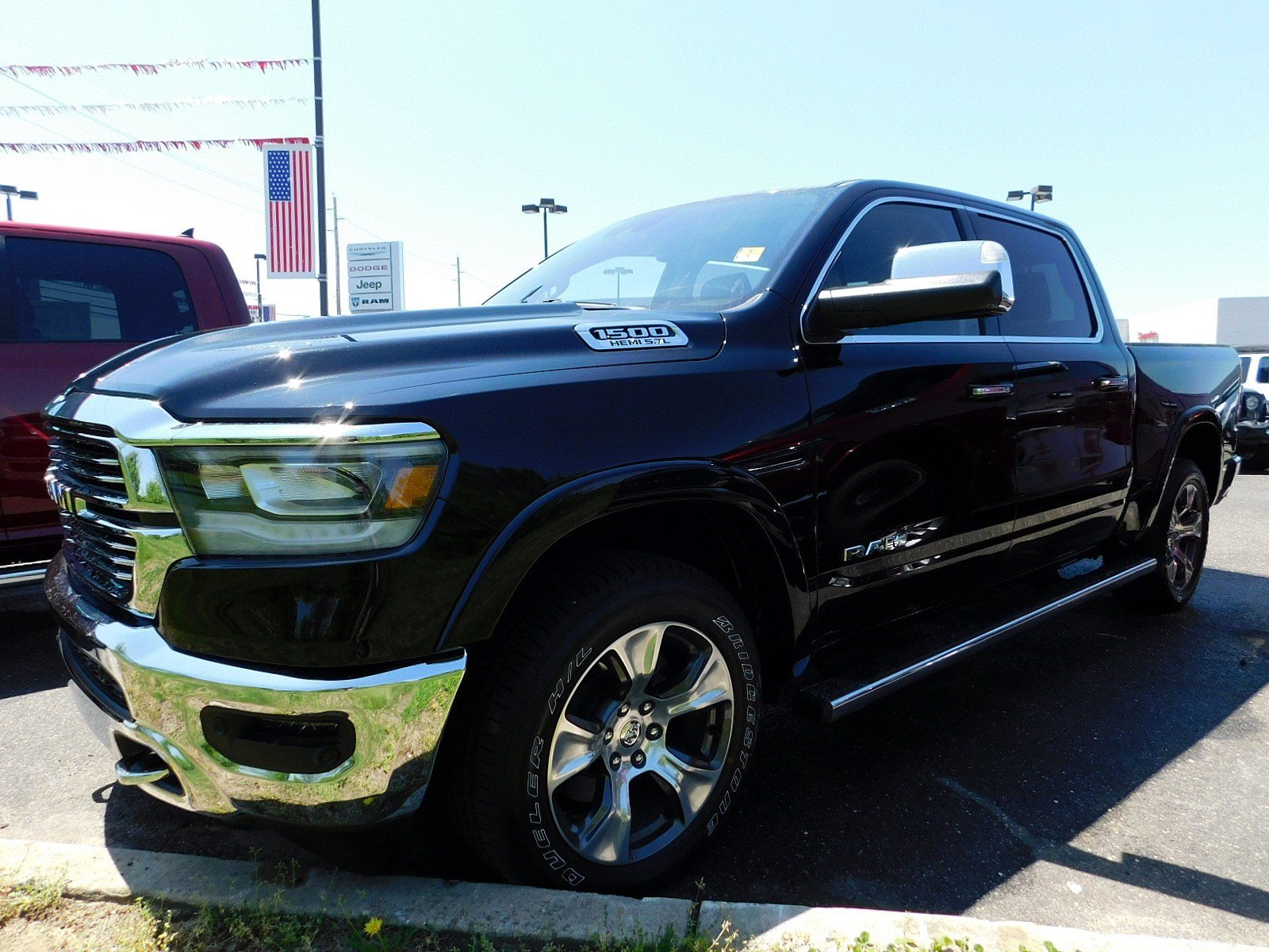 2019 Ram 1500 Crew Cab 4x4,  Pickup #CK014 - photo 3