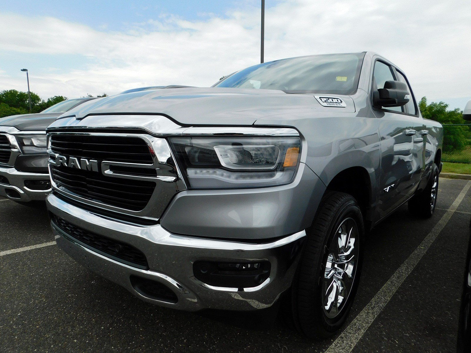 2019 Ram 1500 Quad Cab 4x4,  Pickup #CK027 - photo 4