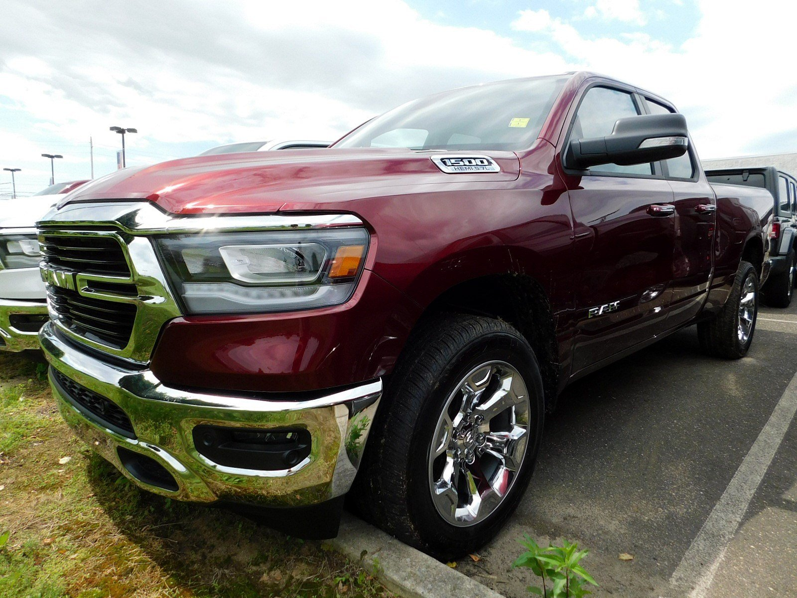 2019 Ram 1500 Quad Cab 4x4,  Pickup #CK029 - photo 4