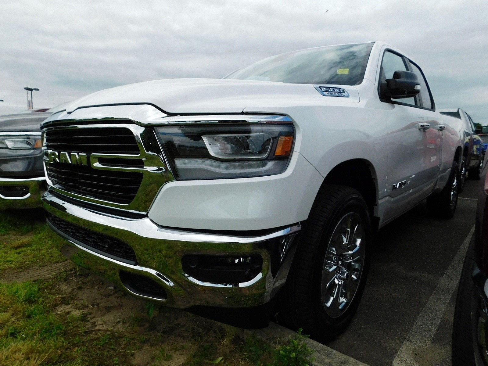 2019 Ram 1500 Quad Cab 4x4,  Pickup #CK032 - photo 4