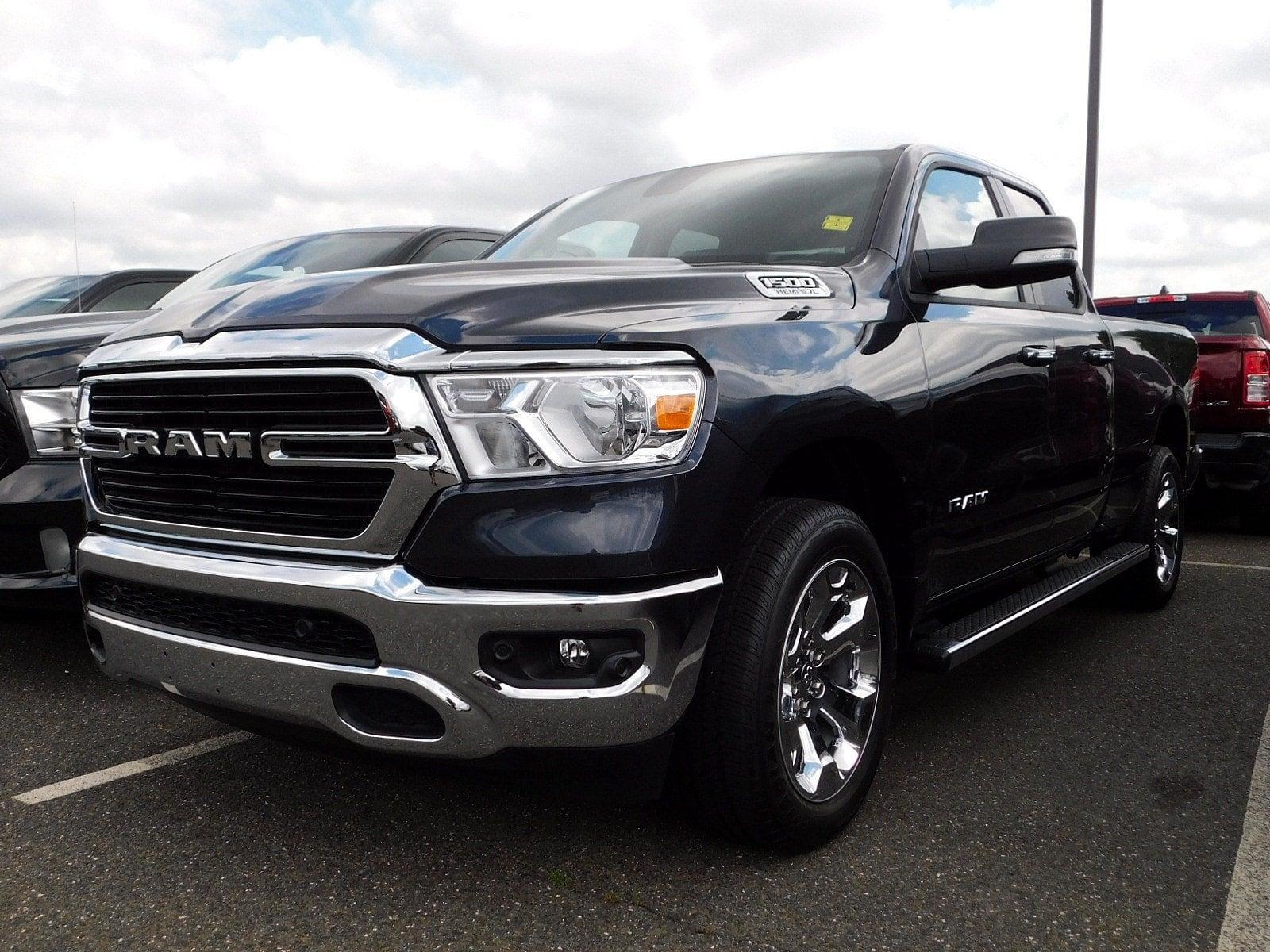 2019 Ram 1500 Quad Cab 4x4,  Pickup #CK041 - photo 4