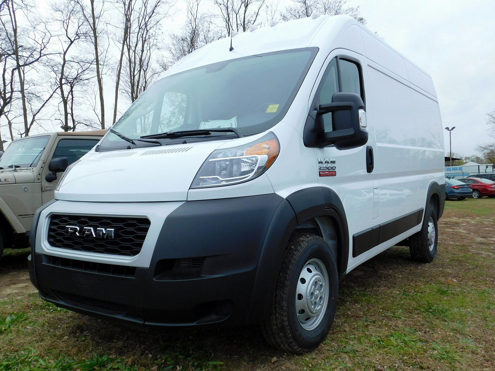 2019 ProMaster 2500 High Roof FWD,  Empty Cargo Van #CK190 - photo 4