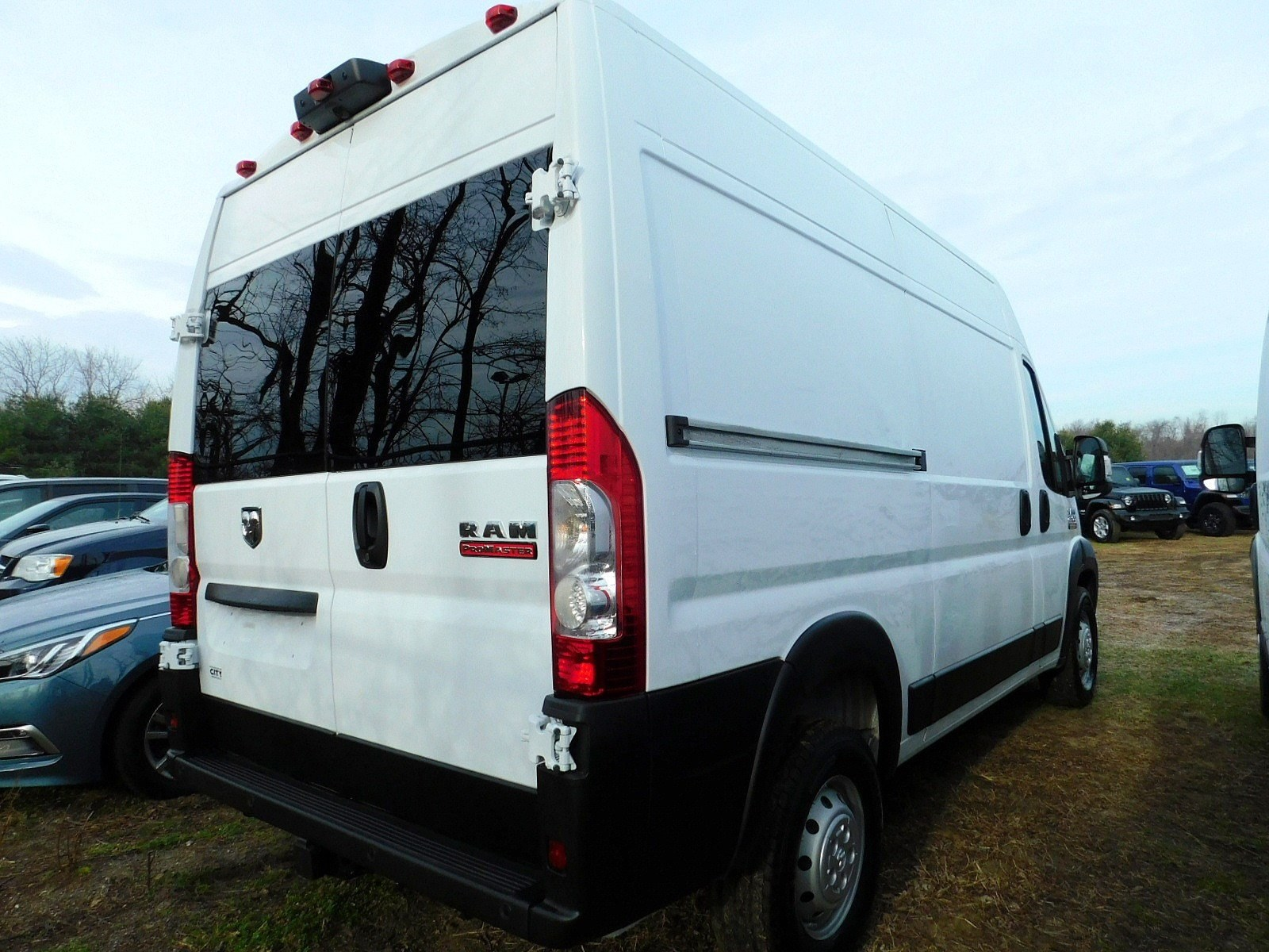 2019 ProMaster 2500 High Roof FWD,  Empty Cargo Van #CK252 - photo 2