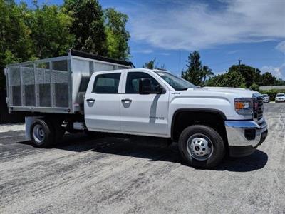 2019 Sierra 3500 Crew Cab 4x4,  Landscape Dump #T19269 - photo 23