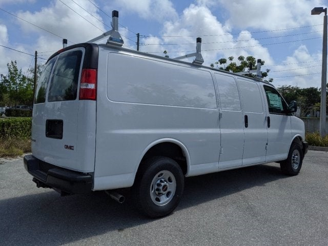 2020 GMC Savana 3500 RWD, Adrian Steel Commercial Shelving Upfitted Cargo Van #T20291 - photo 3