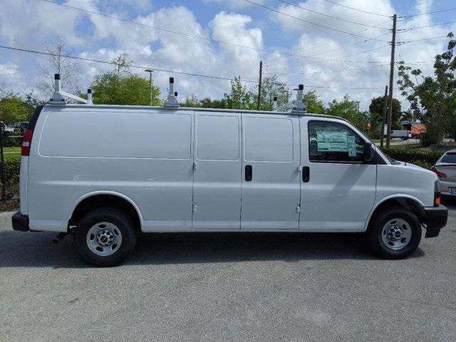 2020 GMC Savana 3500 RWD, Adrian Steel Commercial Shelving Upfitted Cargo Van #T20291 - photo 5