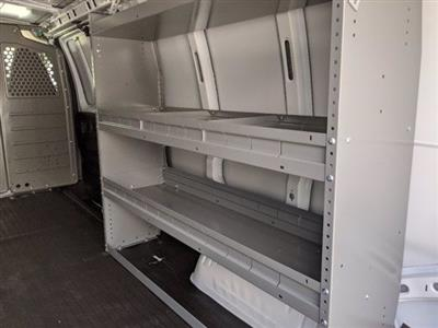 2020 GMC Savana 3500 RWD, Adrian Steel Commercial Shelving Upfitted Cargo Van #T20291 - photo 12