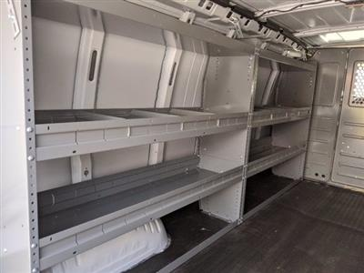 2020 GMC Savana 3500 RWD, Adrian Steel Commercial Shelving Upfitted Cargo Van #T20291 - photo 13