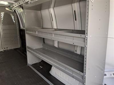 2020 Savana 3500 4x2, Adrian Steel Commercial Shelving Upfitted Cargo Van #T20291 - photo 12