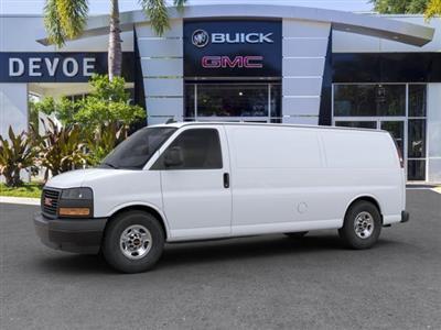 2020 GMC Savana 3500 RWD, Adrian Steel Commercial Shelving Upfitted Cargo Van #T20291 - photo 36