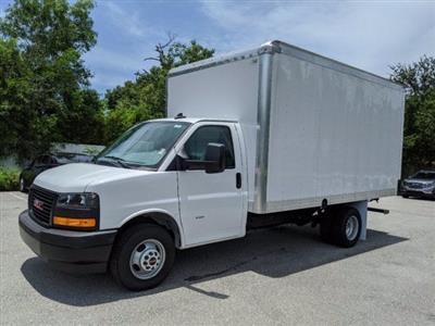2020 GMC Savana 3500 RWD, J&B Truck Body Cutaway Van #T20326 - photo 7