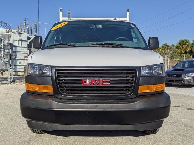 2020 GMC Savana 2500 4x2, Upfitted Cargo Van #T20404 - photo 9