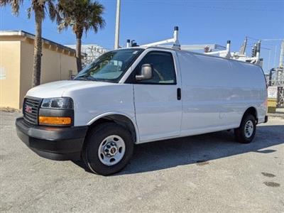 2020 GMC Savana 2500 4x2, Upfitted Cargo Van #T20404 - photo 8