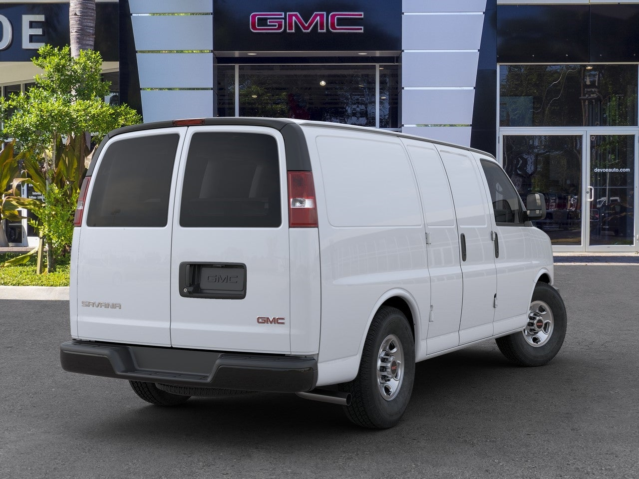 2020 GMC Savana 2500 RWD, Empty Cargo Van #T20457 - photo 2