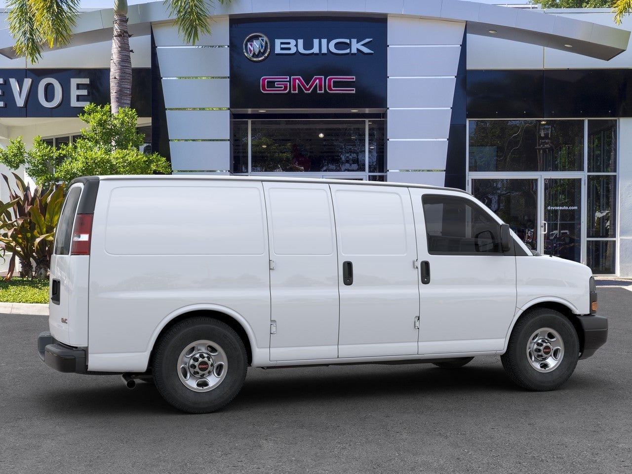 2020 GMC Savana 2500 RWD, Empty Cargo Van #T20457 - photo 5
