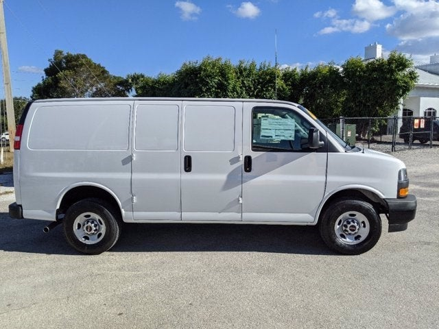 2020 GMC Savana 2500 4x2, Upfitted Cargo Van #T20478 - photo 6