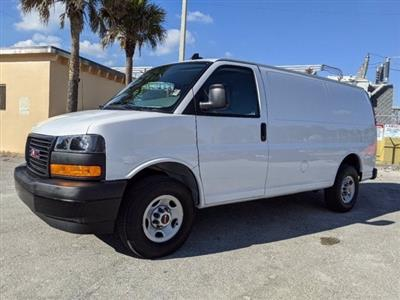 2020 GMC Savana 2500 4x2, Upfitted Cargo Van #T20478 - photo 9
